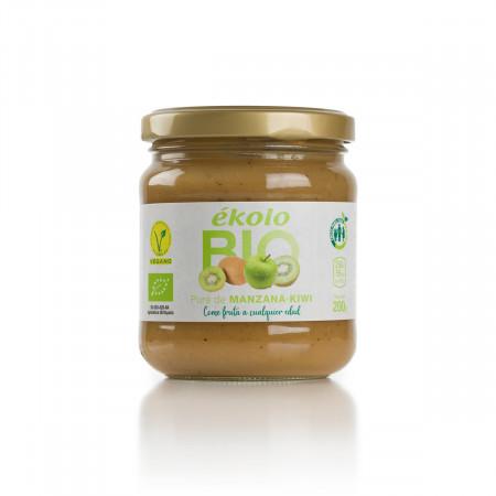Puré de Manzana y Kiwi ecológicos