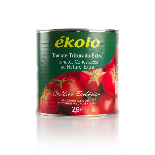 Tomate TRITURADO Ecológico 2,6 kg